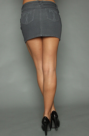 Женские ножки мини юбках