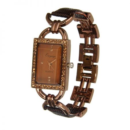 золотые браслеты женские для часов ника
