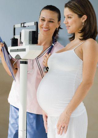 Как меняется вес беременных 11