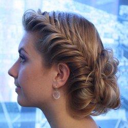 Плетение одна коса