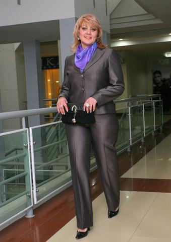 Брючные костюмы для женщин из шифона