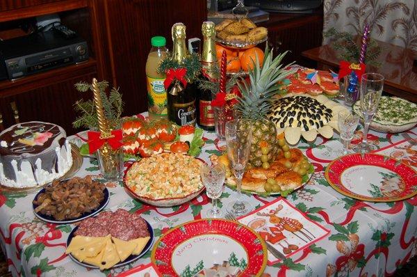 Какие главные блюда на новый год