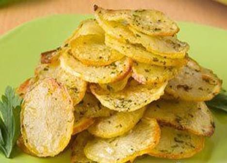 Картофель чипсы в домашних условиях