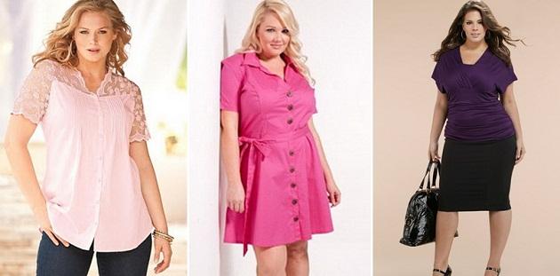 стильная одежда для полных женщин 6