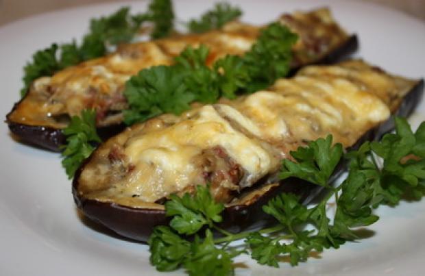 Баклажаны фаршированные мясом рецепты