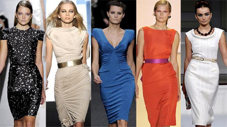Фото мода классического платья