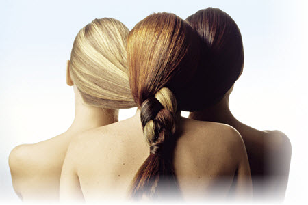 Покрасить волосы в два цвета фото - de84