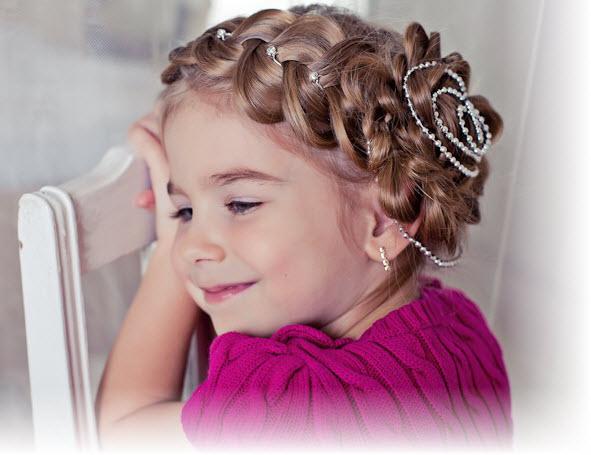 Прически для девочек - 150 вариантов, фото и видеоуроки 65