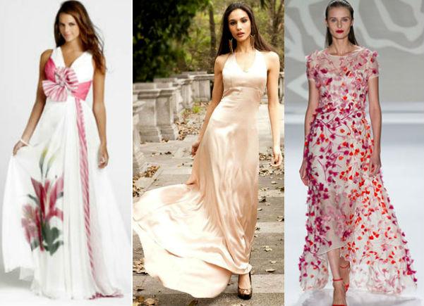 модели классических платьев для полных
