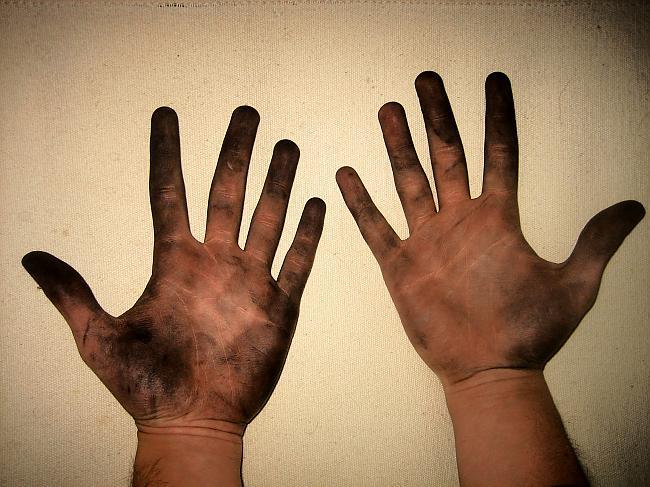 Сонник свои руки черные