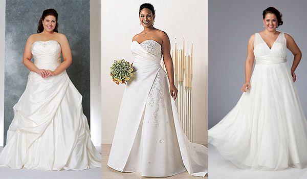 36b113b76735f19 Свадебные платья для полных девушек фото