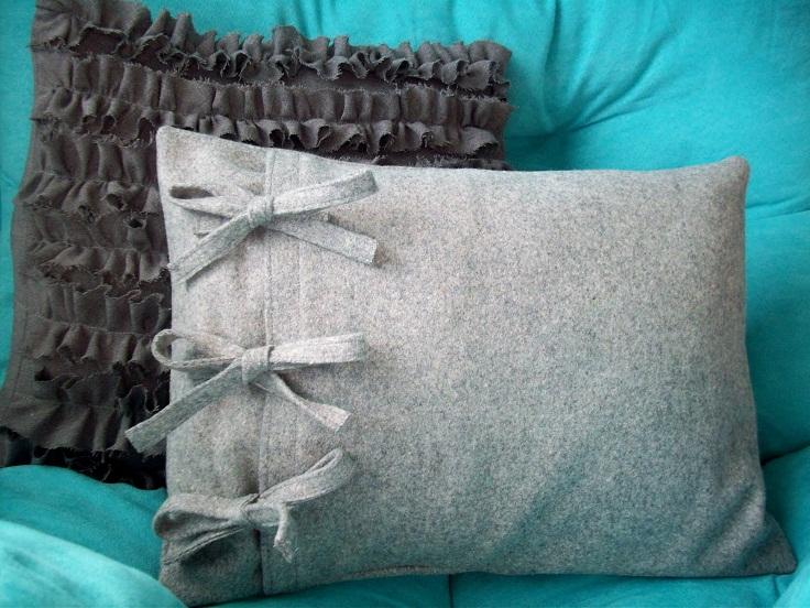 Как сделать своими руками декоративную подушку