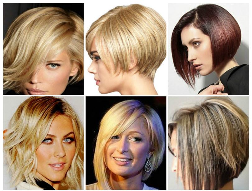 Стильные прически на средние волосы женские