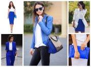 Цвет ультрамарин в одежде
