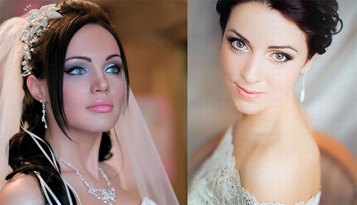 Образ на свадьбу к подруге макияж